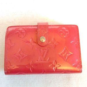 Louis Vuitton Monogram Vernis Porte Monnaie wallet